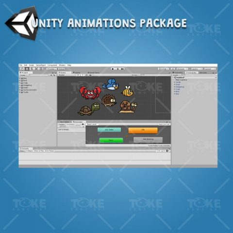 Cartoon Enemy Pack 02 - Unity Animation Ready