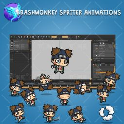Fat Shinobi Guy - Brashmonkey Spriter Animation