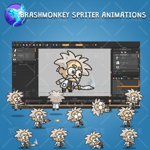 Professor X - Brashmonkey Spriter Animation