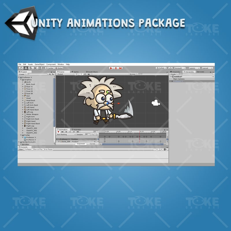 Professor X - Unity Animation Ready