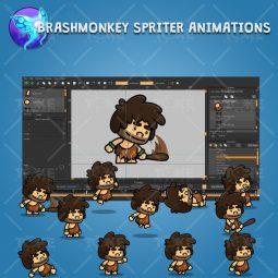 Tiny Caveman - Brashmonkey Spriter Animation