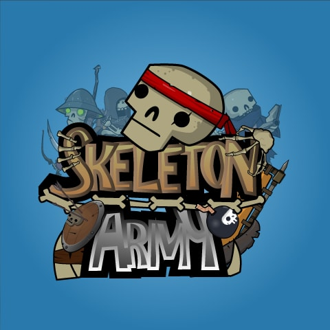 Skeleton Army - 2D Character Sprite