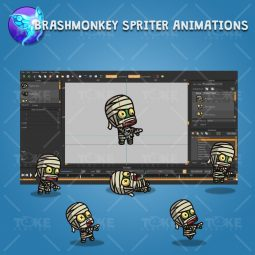 Cartoon Mummy - Brashmonkey Spriter Character Animation