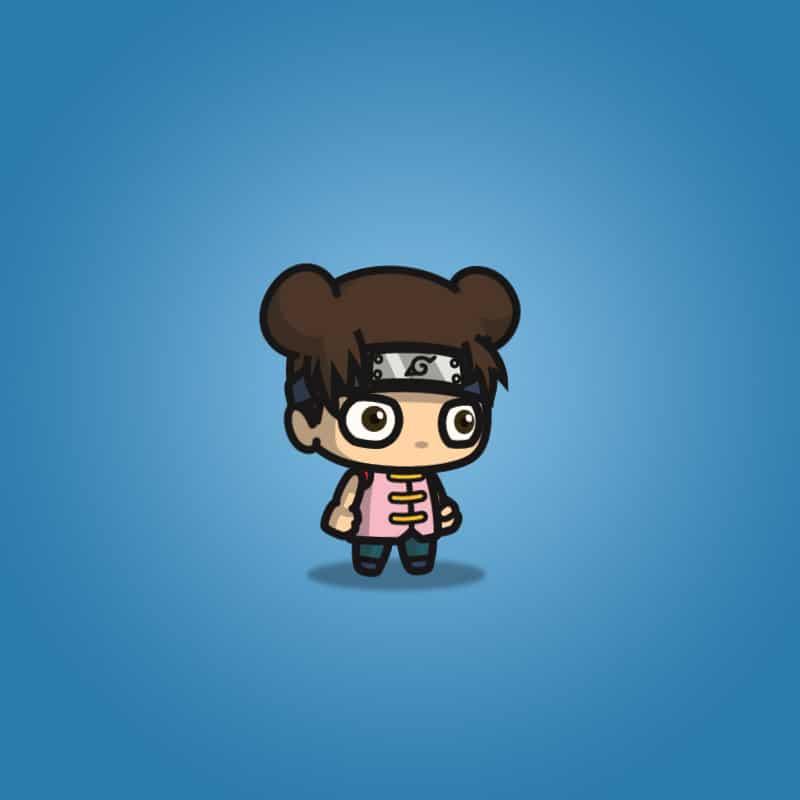 Cute Shinobi Girl