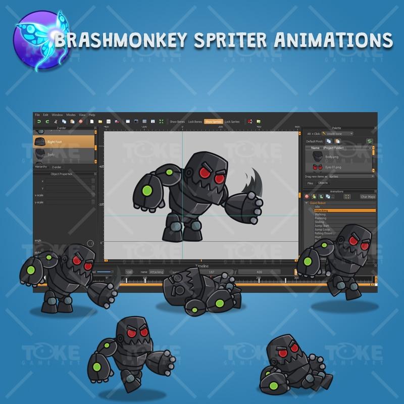 Gian Robot - Brashmonkey Spriter Animation
