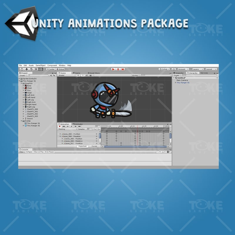 Tiny Ranger 01 - Unity Character Animation Ready