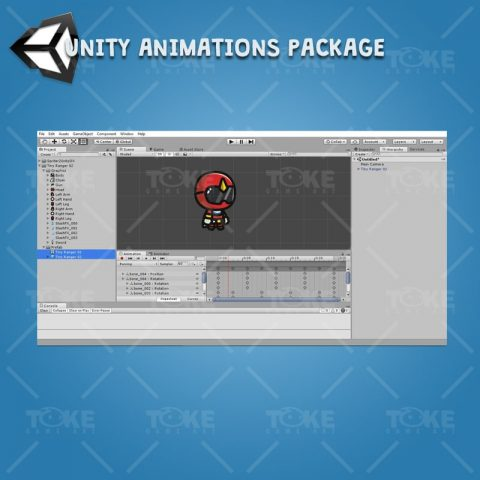 Tiny Ranger 02 - Unity Character Animation Ready