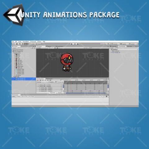 Tiny Ranger 02 - Unity Character Animation Ready