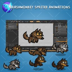 Tiny Wolves - Brashmonkey Spriter Character Animation