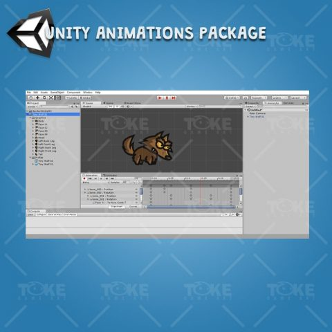 Tiny Wolves - Unity Animation Ready