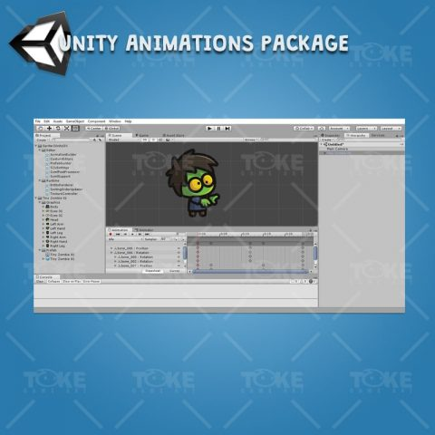 Tiny Zombies - Unity Animation Ready