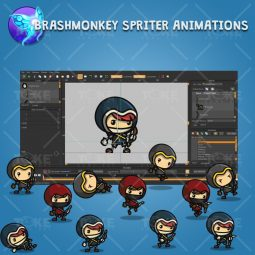 Archer Character Pack - Brashmonkey Spriter Character Animation