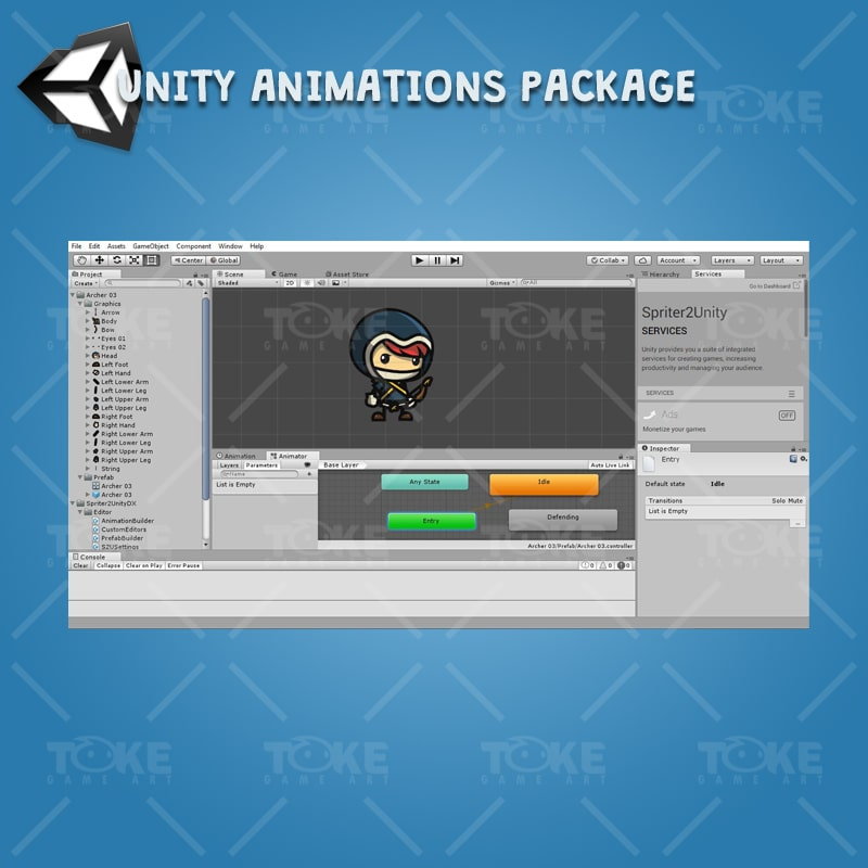 Archer Character Pack - Unity Character Animation Ready