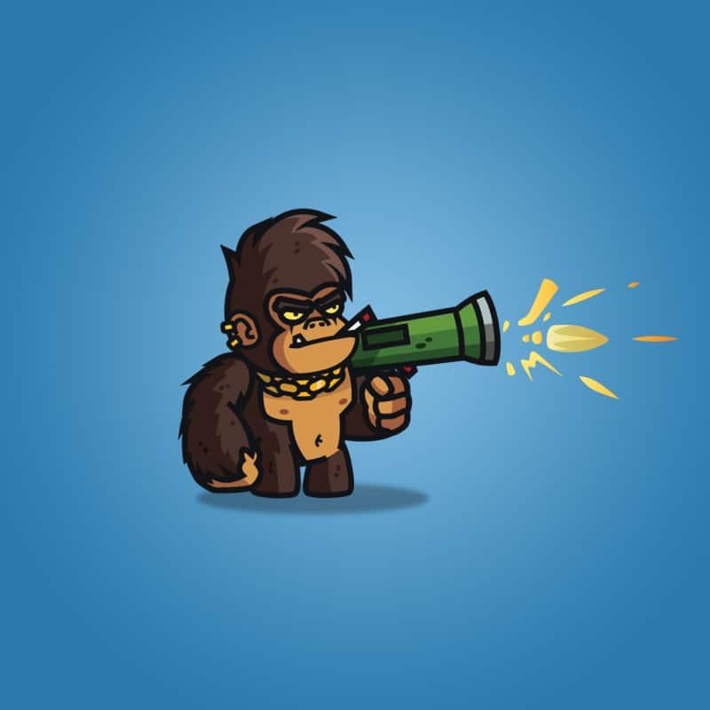 Cartoon Gorilla Boss