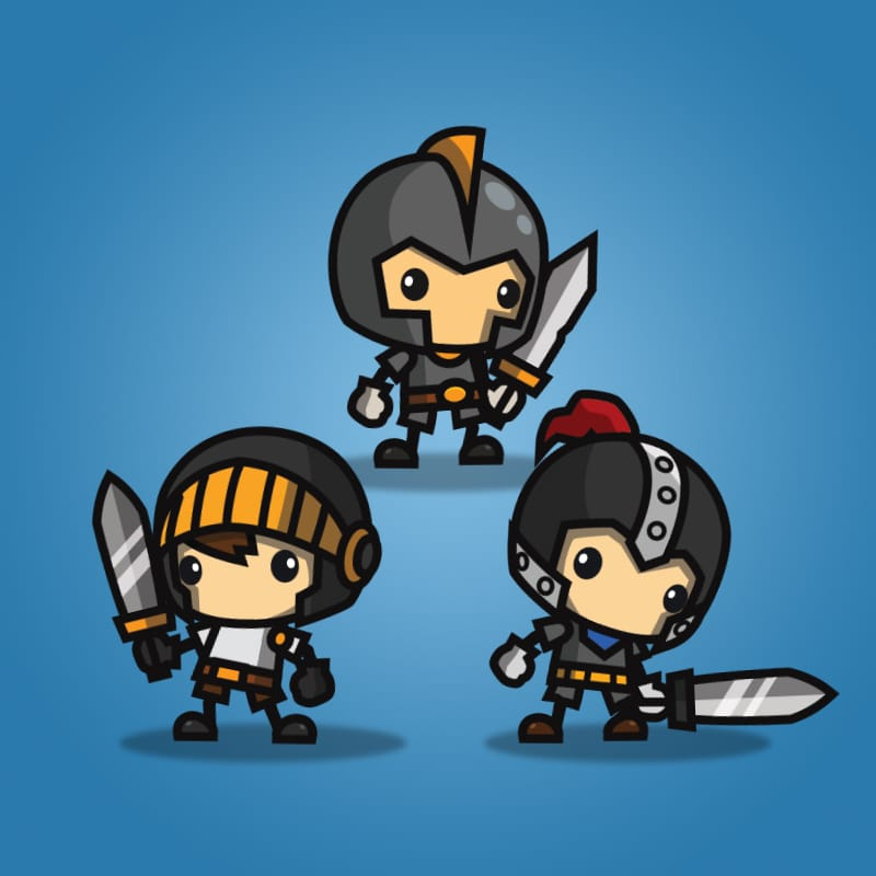 Mini Knight Character Pack