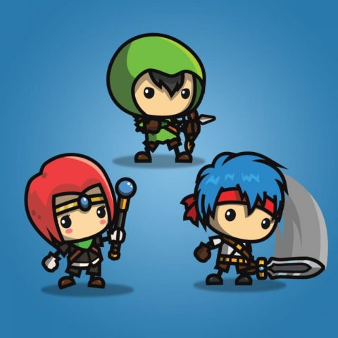 RPG Hero Character Pack