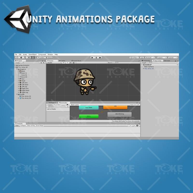Tiny Army - Unity Character Animation Ready