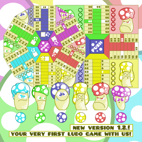 Cool Ludo Game Art - Starter Pack - 2D Game Kit (Update)