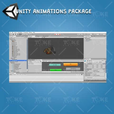Ogre - Unity Character Animation Ready With Spriter2Unity