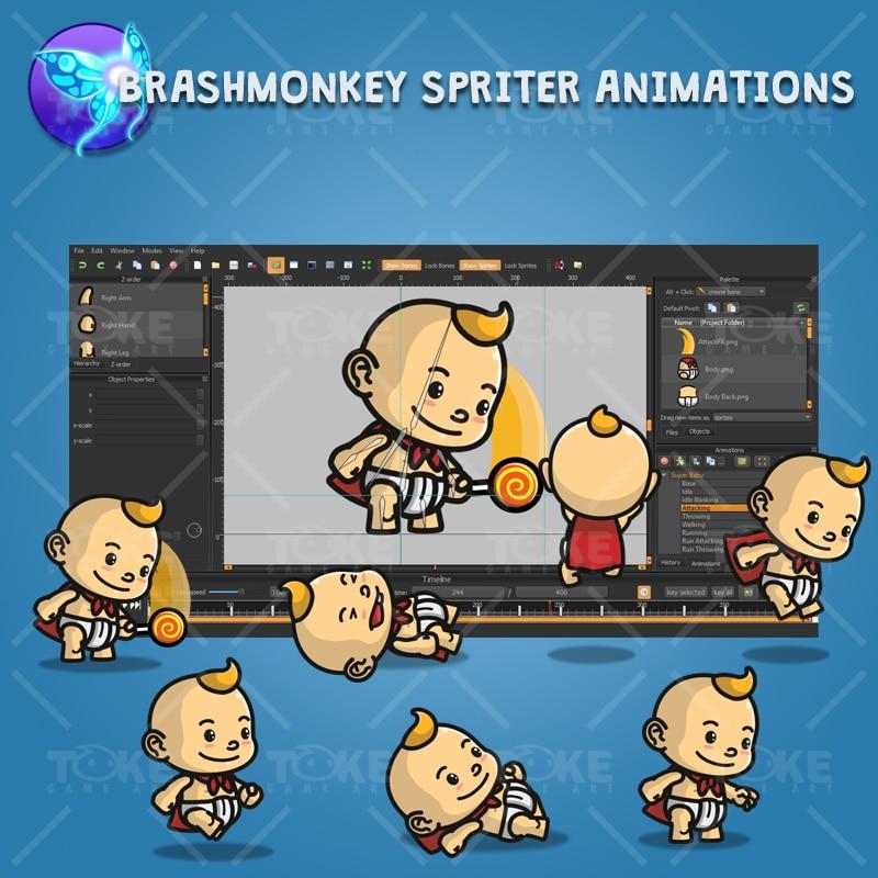 Super Baby - Brashmonkey Spriter Character Animation