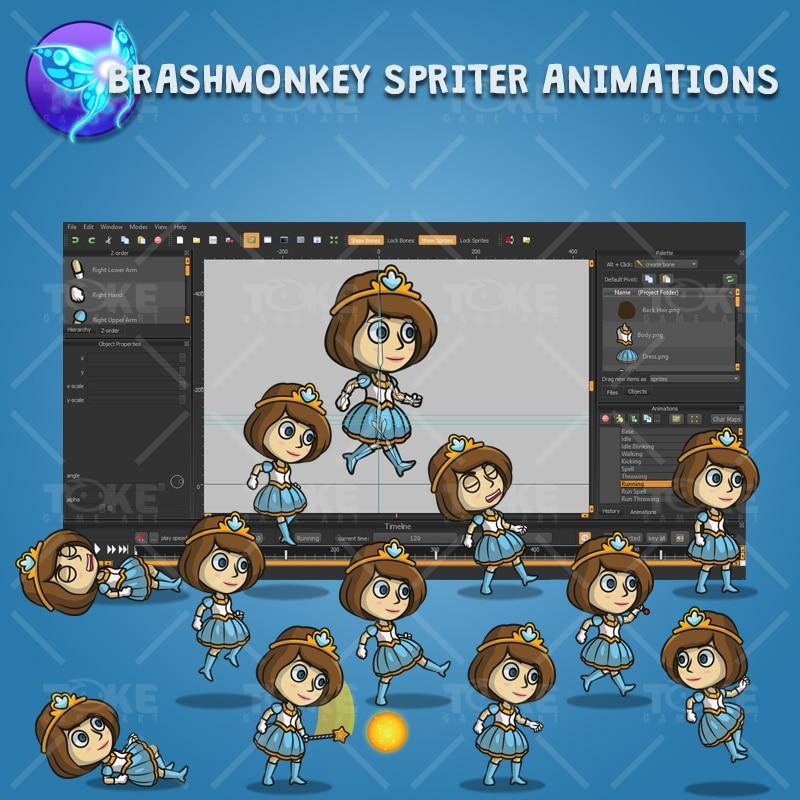 Princess - Brashmonkey Spriter Character Animation