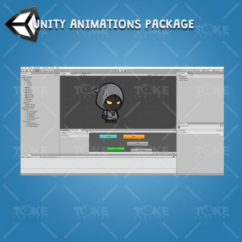 Black Wizard - Unity Character Animation Ready with Spriter2UnityDX Tool