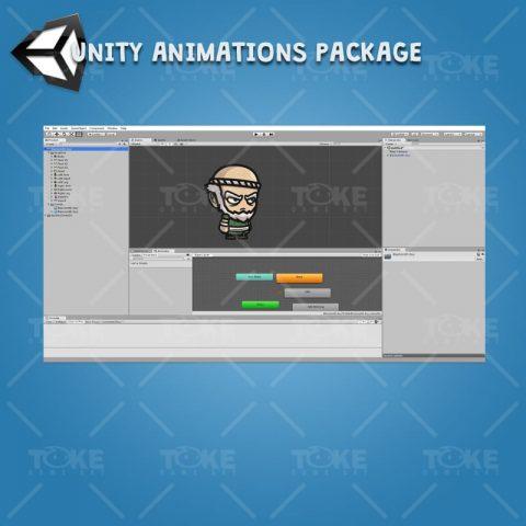 Blacksmith Guy - Unity Character Animation Ready with Spriter2UnityDX Tool