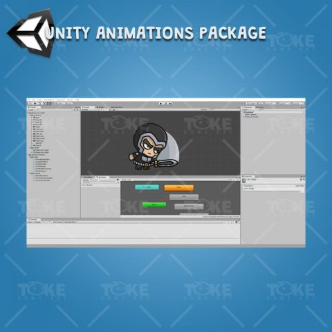 Medieval Knight - Unity Character Animation with Spriter2UnityDX Tool
