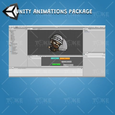 Medieval Sergeant - Unity Character Animation Ready with Spriter2UnityDX Tool
