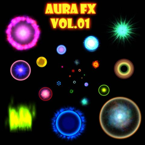 Aura FX Vol 01 - Game Visual Effect