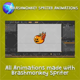 Flying Enemy 4 Pack - Brashmonkey Spriter Character Animations