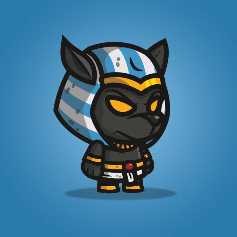 Anubis - 2D Character Sprite for Indie Game Developer