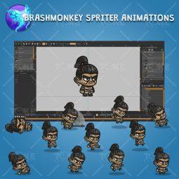 Mayan Tribe Knight - Brashmonkey Spriter Character Animations
