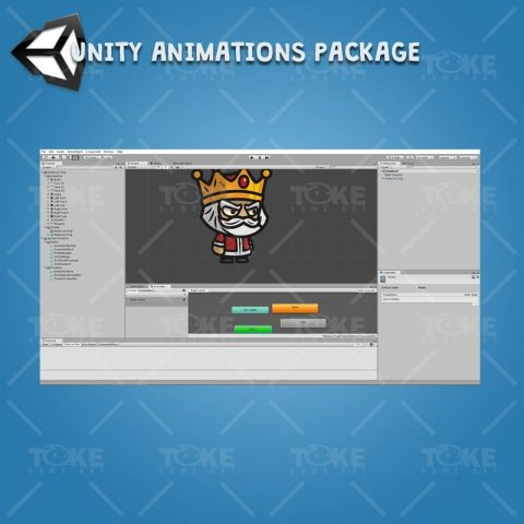 Medieval King - Unity Character Animation with Spriter2UnityDX Tool