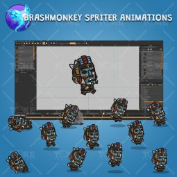 Medieval Masked Guy - Brashmonkey Spriter Character Animations