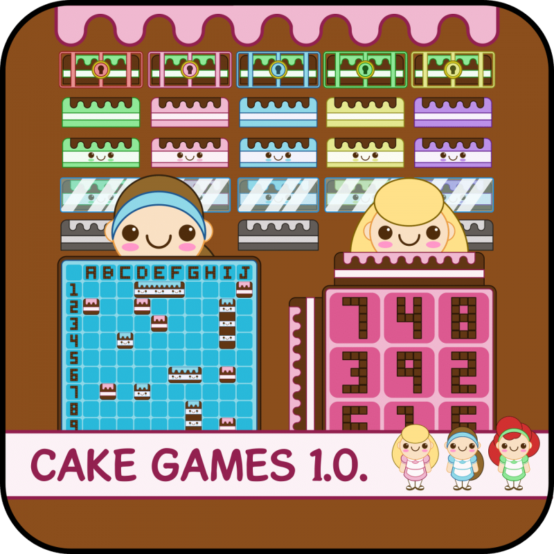 Cake Game Asset for Indie Game Developer