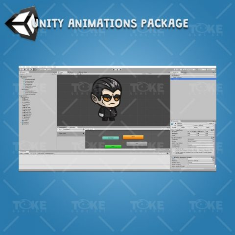 Vampire - Unity Character Animation with Spriter2UnityDX Tool