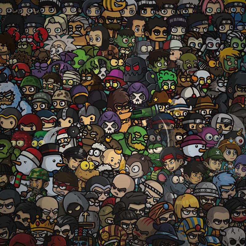 2D Game Art Bundle 2018