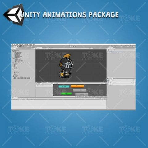 Very Heavy Armored Frontier Defender - Unity Character Animation Ready with Spriter2UnityDX Tool