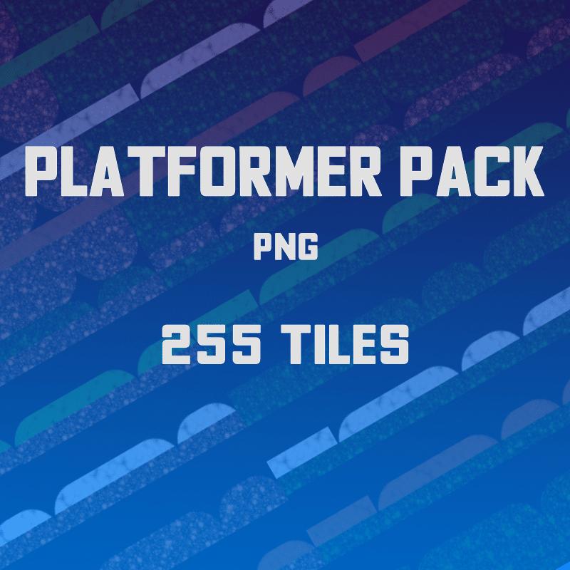 Platformer Tiles Pack - 2D Game Tileset