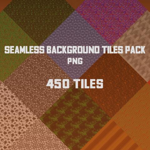 Seamless Background Tiles Pack - 2D Game Tileset