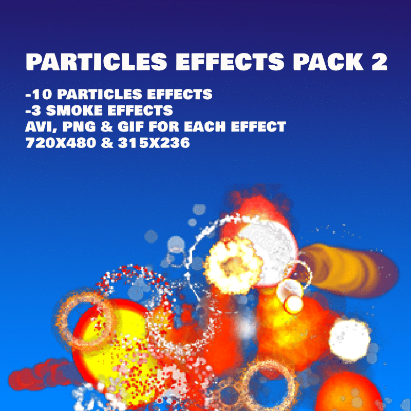 Particles Effects Pack 2 - Animated Game FX