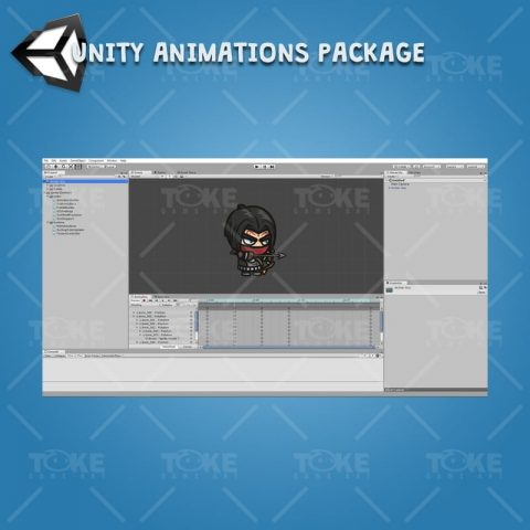 Archer Guy - Unity Character Animation Ready with Spriter2UnityDX Tool
