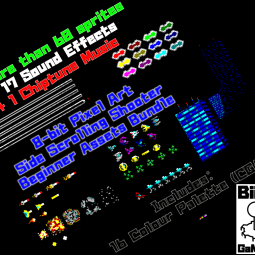 Pixel Art Side Scrolling Shooter Kit - Game Kit