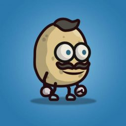 Potato Guy - 2D Character Sprite