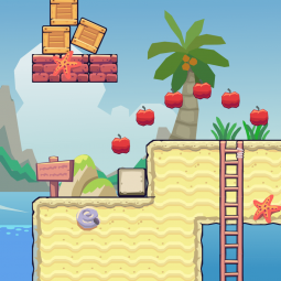 Beach Area - 2D Game Tileset