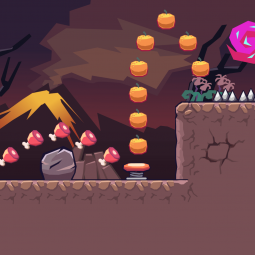 Volcano Area - 2D Game Tileset