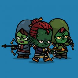 Goblin Archer 3-Packs - Royalty Free 2D Charcater Sprite